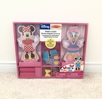 Melissa and Doug Disney wooden dress-up- New still in packaging Mississauga, L5M 0C5