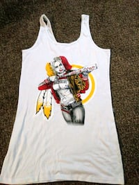 white and red tank top Norfolk, 23505