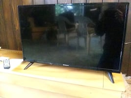 "32"" TV with built-in DVD player"