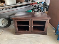 Solid wood TV stand Hanahan, 29445
