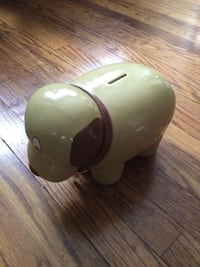 Piggy bank(dog). Fun for all ages