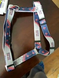 New Boston Red Sox dog harness halter Large Framingham, 01701