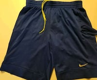 Nike Royal Blue Basketball Bball Shorts Large Queens, 11378