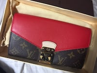 Red white and black louis vuitton leather wallet San Jose, 95133