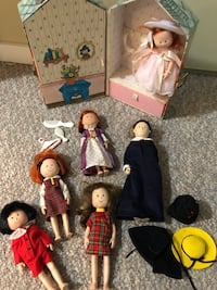 Vintage Collection of Madeline Story Characters and Accessories