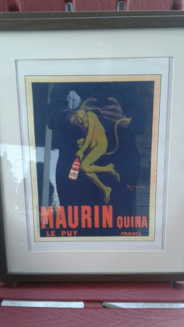 Maurin Quina framed poster