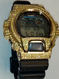 YELLOW AND GOLD DIAMOND G SHOCK WATCH!!! Houston, 77077