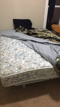 Like new queen bed and frame  Edmonton