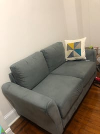 gray fabric 2-seat sofa Washington, 20005