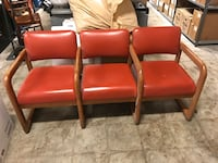 """Retro chairs 6' long 24"""" deep excellent shape. Great for man cave!"""