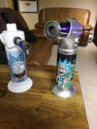Cool new Rick and Morty Dab Torches   (Flea Market)