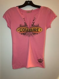 Juicy Couture pink T-shirt top Vancouver