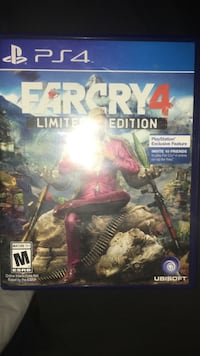 Farcry 4 limited edition sony ps4 game case Haymarket, 20169