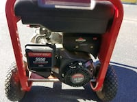black and red Troy-Bilt portable generator Chesapeake, 23321