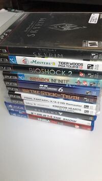 assorted Sony PS4 game cases Kitchener, N2M