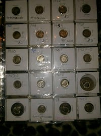 AMERICANA Coins. Large Collection.