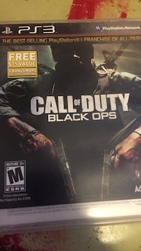 playstation 3 call of duty black ops game Huntington Park, 90255