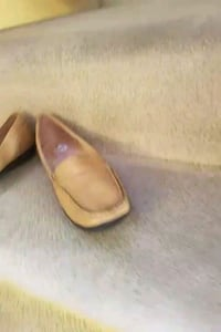 pair of tan leather loafers $20.  Or best offer. New Market, 21774