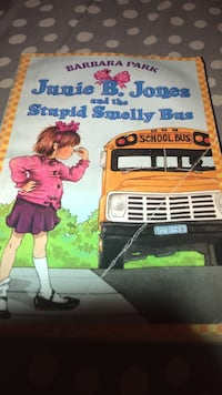 Barbara Park Junie B. Jones and the Stupid Smelly Bus book Tulare, 93274