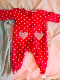 BABY GIRL SLEEPERS 0-6 months~~~~~ Mississauga, L4Z 1H1