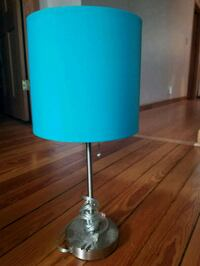 Tabletop lamp with teal lampshade  Chicago, 60622