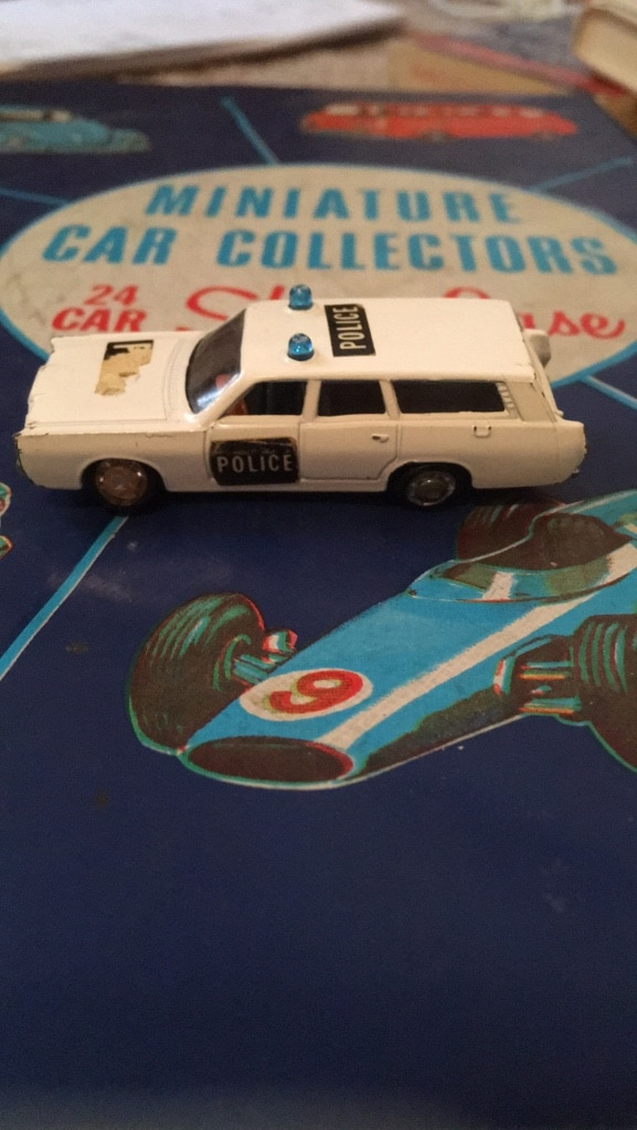 Photo Toy car toy police car