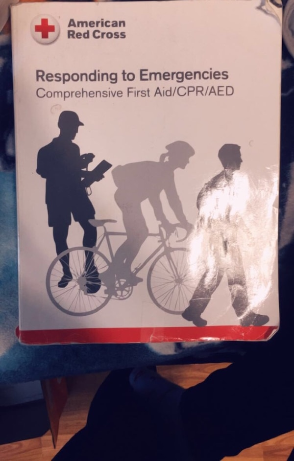 Used American Red Cross Responding To Emergencies Book For Sale In