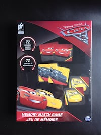 Brand new memory card game - CARS Toronto, M5N 1L5