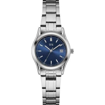 NEW TFX Blue Dial Watch, Stainless Steel Bracelet