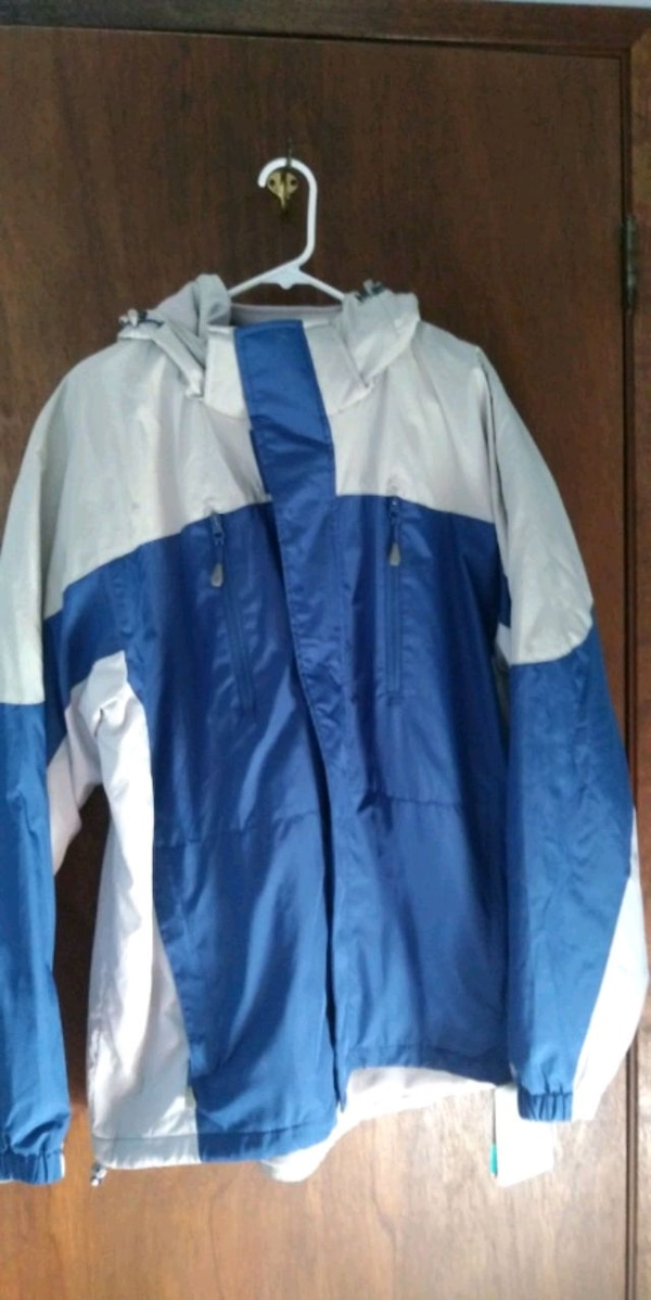 Brand new jacket 1X blue and one is size 2X