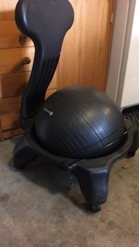 Black Gaiam chair. Edmonton, T6M 1H6