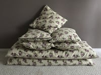 cushions set (2 LONG AND 5 NORMAL SIZE = 7 pieces) TORONTO