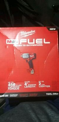 "Milwaukee m18 fuel 1/2"" wrench Driver"