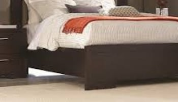 Cal King Wood Bed Frame with light NEW