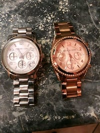 Silver and Rose gold MK watches Philadelphia, 19124