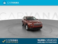 2015 *Jeep* *Cherokee* Latitude Sport Utility 4D suv Red Downey
