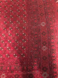 Red and white floral textile 250+350 Toronto, M9W 3X1