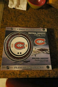 Montreal Canadiens cribbage board Kitchener, N2M 5H5