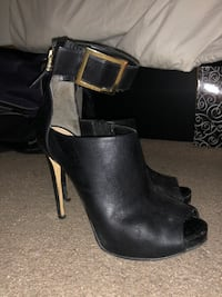 Guess strap on heels