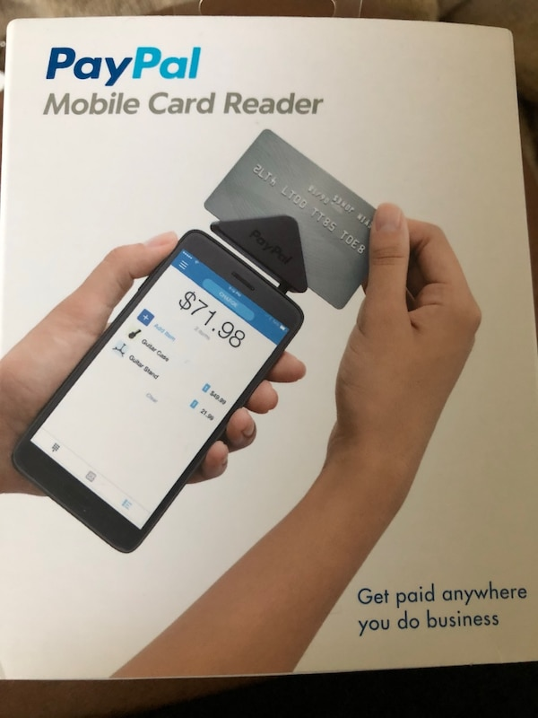 Paypal Mobile Card Reader >> Used Paypal Card Reader Brand New I Do Not Deliver For Sale In