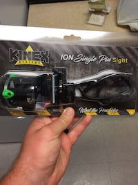 Kinex Ion Single Pin bow sight Allegan, 49010