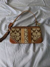 Real coach wallet/wristlet