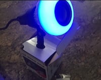 Blue tooth speaker light bulb colorchanging with remote control Mississauga, L4X 1C9