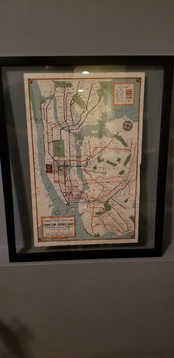 1940 Nyc Subway Map.1940 Nyc Subway Map