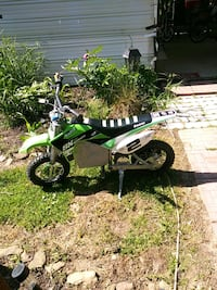 green and black motocross electric bike Mount Airy, 21771