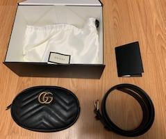 AUTHENTIC GUCCI BAG WITH REMOVABLE STRAP (with receipt)
