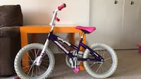 Girl bike 16 inch with support wheels Germantown, 20874