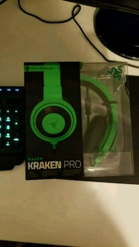 Razer Headset Kraken Pro 7.1 In Box Sealed