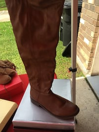 Brown Riding Boots Size 10 Kenner, 70065