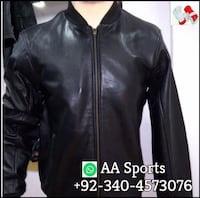 Simple Leather Jacket Sialkot
